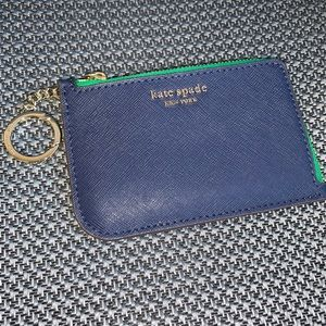 Kate Spade Key Card Coin Case Holder NEW